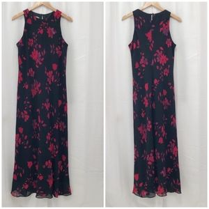 Vintage Jones Wear floral column maxi dress 14